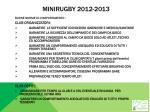 minirugby 2012 2013