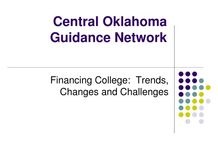 central oklahoma guidance network n.