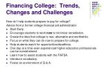 financing college trends changes and challenges12