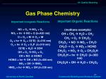 gas phase chemistry1
