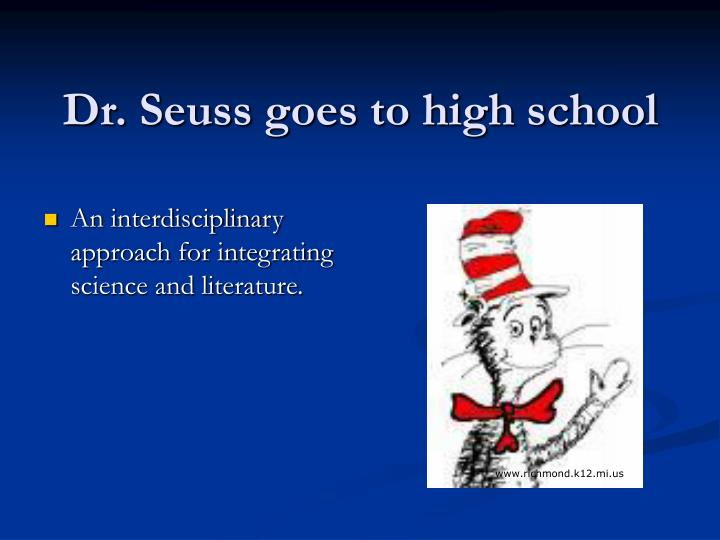dr seuss goes to high school n.