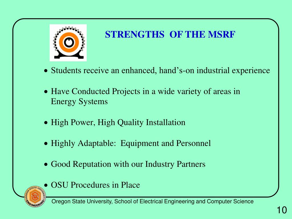 PPT - Energy Systems Research at Oregon State University