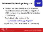 advanced technology program1