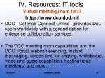 iv resources it tools