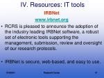 iv resources it tools3