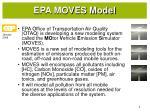 epa moves model