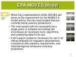 epa moves model1