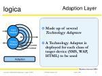 adaption layer