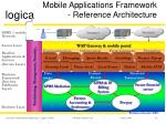 mobile applications framework reference architecture