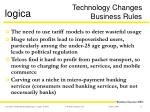 technology changes business rules