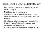 czechoslovakia before and after the war