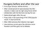 hungary before and after the war