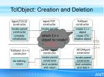 tclobject creation and deletion