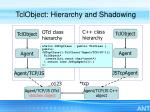 tclobject hierarchy and shadowing