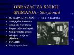 obrazac za knjigu snimanja storyboard