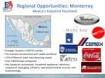 regional opportunities monterrey mexico s industrial heartland
