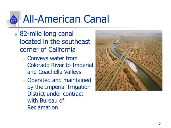All american canal