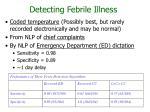 detecting febrile illness