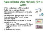 national retail data monitor how it works