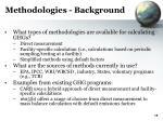 methodologies background