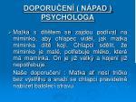 doporu en n pad psychologa