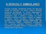 s d vkou v ambulanci