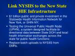 link nysiis to the new state hie infrastructure