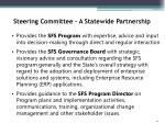 steering committee a statewide partnership