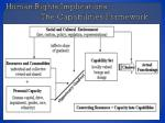 human rights implications the capabilities framework