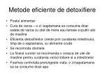 metode eficiente de detoxifiere