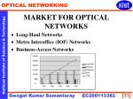 market for optical networks