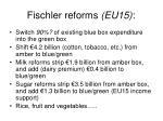 fischler reforms eu15