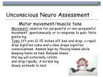 unconscious neuro assessment1