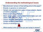 understanding the methodological issues