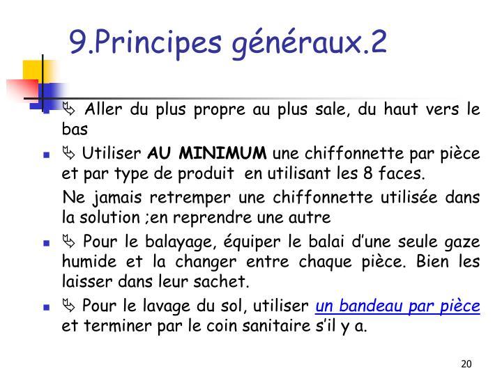 9.Principes généraux.2