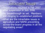 intractable issues