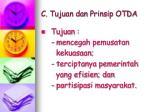c tujuan dan prinsip otda