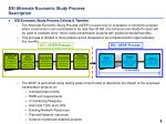 esi alternate economic study process description
