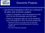 economic projects