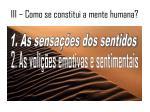 iii como se constitui a mente humana2