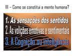 iii como se constitui a mente humana3