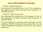 ask tell in reified constraints1
