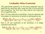 cardinality meta constraint2