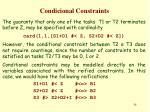 condicional constraints1