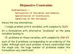 disjunctive constraints3