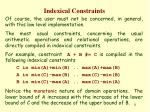 indexical constraints10