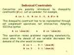 indexical constraints12