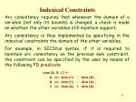 indexical constraints14
