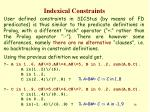 indexical constraints15