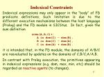 indexical constraints16